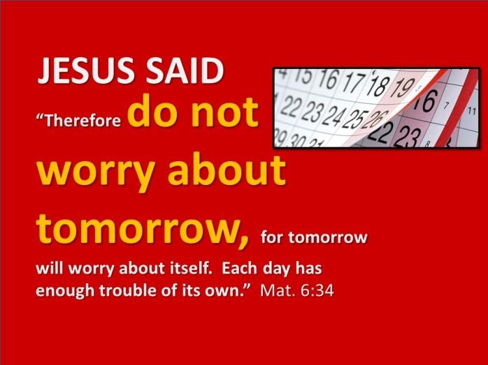 worry calendar