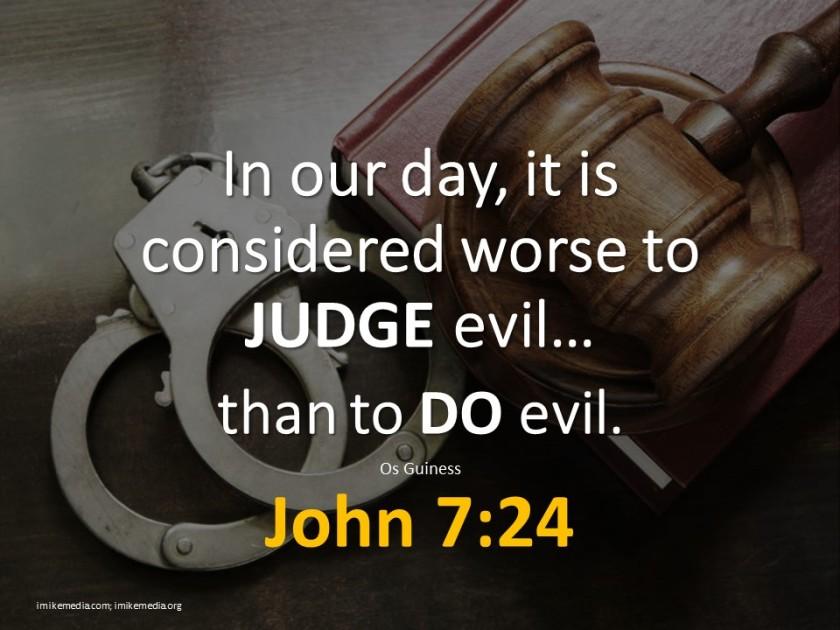 judging